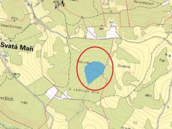Prodej pozemku 88357 m², Svatá Maří