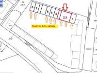 Situační plánek - Pronájem jiných prostor 12 m², Písek