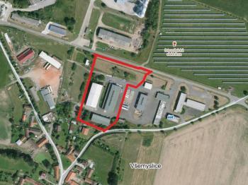Prodej komerčního objektu 13384 m², Všemyslice