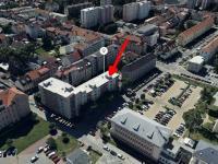 Pronájem komerčního prostoru (kanceláře) v osobním vlastnictví, 66 m2, České Budějovice