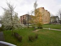 Pohled z balkónu - Prodej bytu 2+1 v družstevním vlastnictví 68 m², České Budějovice