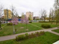 Pohled z obývacího pokoje - Prodej bytu 2+1 v družstevním vlastnictví 68 m², České Budějovice