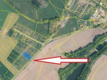 Prodej pozemku 1020 m², Horní Skrýchov