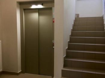 ul. B Smetany - Č. Budějovice 3, byt 2+kk - společná chodba - Pronájem bytu 2+kk v osobním vlastnictví 60 m², České Budějovice
