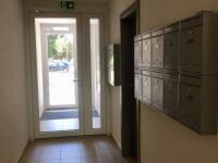 ul. B Smetany - Č. Budějovice 3, byt 2+kk - východ z domu  - Pronájem bytu 2+kk v osobním vlastnictví 60 m², České Budějovice