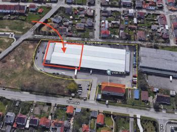 Pronájem komerčního objektu 2150 m², České Budějovice
