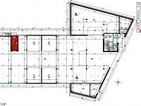 Půdorys parkovací stání/parklift - Prodej bytu 3+kk v osobním vlastnictví 99 m², České Budějovice
