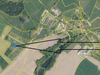 Prodej pozemku 813 m², Horní Skrýchov
