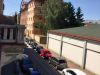 Pronájem bytu 3+KK ul. Komenského České Budějovice - balkon a pohled na okolí  - Pronájem bytu 3+kk v osobním vlastnictví 76 m², České Budějovice