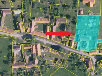 orientační mapka - Prodej domu v osobním vlastnictví 234 m², Dolní Třebonín
