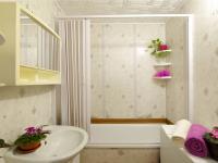 Koupelna - Prodej bytu 5+1 v osobním vlastnictví 99 m², České Budějovice