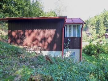 Pohled na chatu - Prodej chaty / chalupy 35 m², Římov