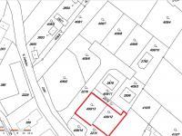 Snímek z katastrální mapy - Prodej pozemku 619 m², Blatná