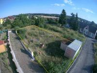 Pohled na pozemek a okolí - Prodej pozemku 619 m², Blatná