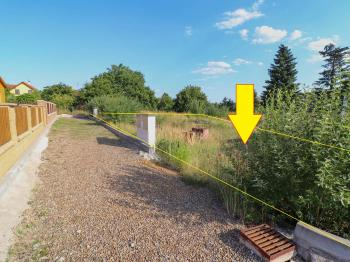 Pohled na pozemek, přístupová cesta - Prodej pozemku 619 m², Blatná