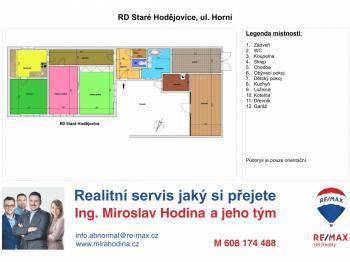 Prodej rodinného domu Staré Hodějovice České Budějovice - Prodej domu v osobním vlastnictví 100 m², Staré Hodějovice