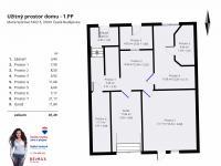 Půdorys sklep - Prodej domu v osobním vlastnictví 320 m², České Budějovice