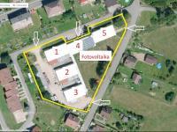 Popis areálu - Prodej komerčního objektu 7165 m², Vacov