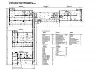 Půdorys areálu, 5 pavilonů - Prodej komerčního objektu 7165 m², Vacov