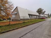 Pohled na budovu - pavilon č. 5, 4 a 1 - Prodej komerčního objektu 7165 m², Vacov