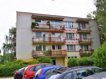 Prodej bytu 2+1 v družstevním vlastnictví 53 m², Milevsko