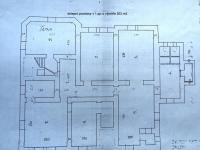 půdorys sklepa (Prodej domu v osobním vlastnictví 746 m², Krnov)