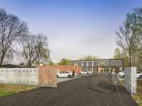 vizualizace dle projektu (Prodej pozemku 2387 m², Ostrava)