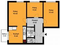 Prodej bytu 3+1 v osobním vlastnictví 65 m², Ostrava