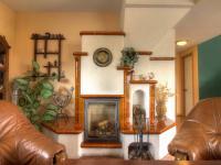 krb v denní místnosti (Prodej domu v osobním vlastnictví 150 m², Metylovice)