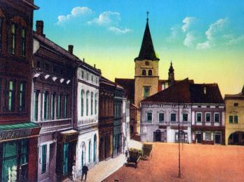 dobová fotografie - Prodej restaurace 530 m², Valašské Meziříčí