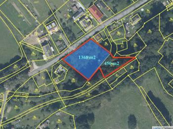 Prodej pozemku 1818 m², Vlčice
