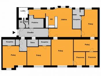 Prodej bytu 5+kk v osobním vlastnictví 200 m², Ostrava