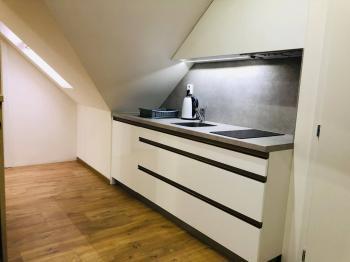 kuchyňka v podkroví - Pronájem komerčního objektu 300 m², Ostrava