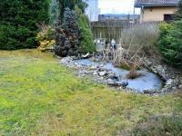 okrasná zahrada (Prodej domu v osobním vlastnictví 225 m², Stará Huť)