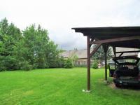 zahrada v létě (Prodej domu v osobním vlastnictví 114 m², Vranovice)