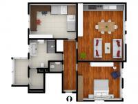 108m2, 2. a 3. NP - Prodej bytu 3+kk v osobním vlastnictví 104 m², Příbram
