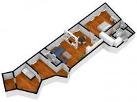 105m2, 4.NP - Prodej bytu 3+kk v osobním vlastnictví 104 m², Příbram