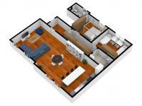 102m2, 1.NP - Prodej bytu 3+kk v osobním vlastnictví 104 m², Příbram