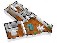 104m2, 2.a 3.NP - Prodej bytu 3+kk v osobním vlastnictví 104 m², Příbram