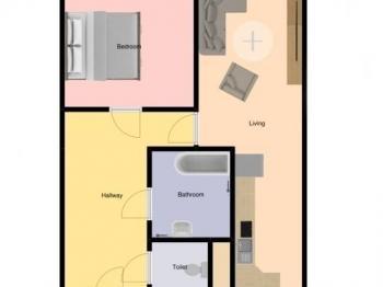 Prodej bytu 2+kk v osobním vlastnictví 44 m², Dobříš