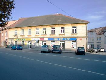 budova - Pronájem obchodních prostor, Milevsko