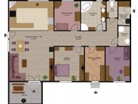 Půdorys - Prodej domu v osobním vlastnictví 116 m², Lety