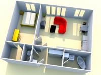 Prodej bytu 2+kk v osobním vlastnictví 59 m², Praha 9 - Letňany
