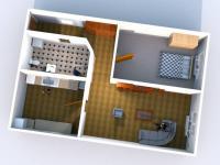 Pronájem bytu 2+kk v osobním vlastnictví 49 m², Bílina