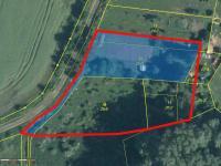 Prodej pozemku 3947 m², Modlany