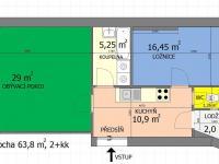 Prodej bytu 2+kk v osobním vlastnictví 64 m², Praha 10 - Vršovice