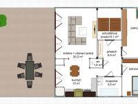 1.patro - Pronájem domu v osobním vlastnictví 244 m², Teplice