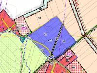 Územní plán (Prodej pozemku 5000 m², Tuhaň)
