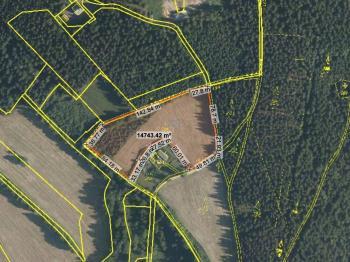 parc.č. 206 - Prodej pozemku 14872 m², Kraslice
