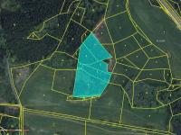 Prodej pozemku 12966 m², Chanovice